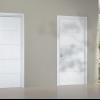 Білі двері в білому інтер'єрі (фото)