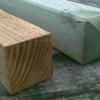 Колода, укріплене вертикально - особливості монтажу