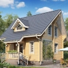 Двоповерховий каркасний будинок 6х6: варіант будівлі при невеликих витратах