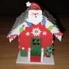 Як зробити гарний будиночок Діда Мороза своїми руками
