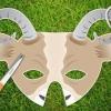 Як зробити маску кози різними способами