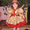 Як зшити новорічний костюм цукерочки для дівчинки