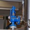 Клапан запобіжний з регулюванням тиску води