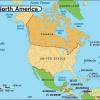 Найбільші країни Північної Америки та їх столиці. США, Канада, Мексика