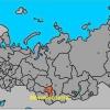 Новокузнецьк - яка область? Новокузнецьк на карті Росії