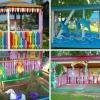 Оформлення дитячих веранд в дитячому садку своїми руками влітку (фото)