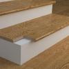 Оздоблення ступенів бетонних сходів на вулиці і в будинку плиткою, гумовим покриттям, деревом, ламінатом