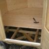 Підлоги з фанери по лагам своїми руками на дачі, в приватному дерев'яному будинку, на 2 поверсі