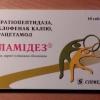 """Препарат """"Фламідез"""": інструкція із застосування, опис, показання та відгуки лікарів"""