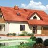 Проект дерев'яного будинку з гаражем і мансардою до 100-200 кв. м (фото)