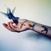 Птахи на руках (тату) та їх значення