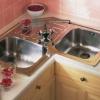 Розміри кутових мийок для кухні. Маленькі кутові мийки для кухні