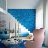 Різнобарвна морська галька. Оздоблення стін морською галькою