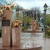 Сквер сибірських кішок - затишний пам'ятник хвостатим героям
