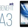 Смартфон ARK Benefit A3: огляд, опис, характеристики та відгуки