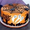 Страшний і смачний торт на Хеллоуїн