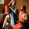 Святі Марія і Марфа. Новий Заповіт