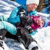 Теплі та зручні жіночі зимові костюми для прогулянок з дітьми