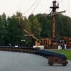 Воронеж, Адміралтейська площа. Корабель на Адміралтейській площі, Воронеж