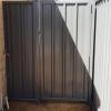 Ворота і хвіртка з металопрофілю своїми руками