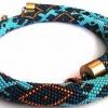 Джгут з бісеру: схеми плетіння гачком