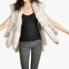 Жилетка з песця - стильна і модна річ у гардеробі жінки